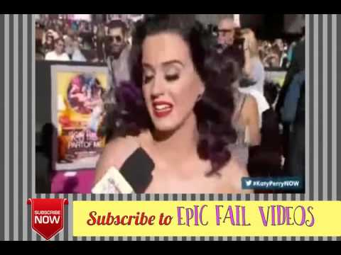 Katy Perry Nipple slip during Interview 2012