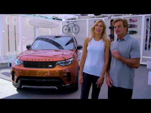 Interviews with Laird Hamilton & Gabby Reece - Discovery Venice Activation | AutoMotoTV