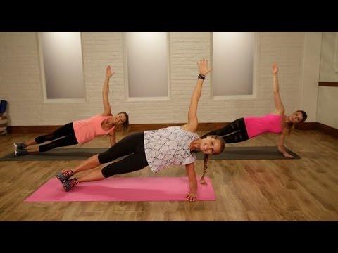 Видео. Тренируйся как ангел: 20 минут упражнений без дополнительного оборудования от Victoria's Secret