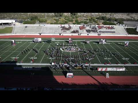 Horizon HS Marching Band and Color Guard Timelapse 2018