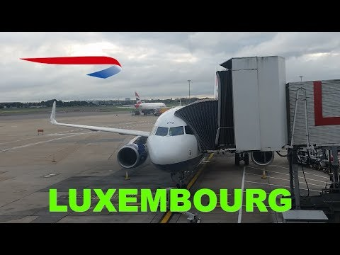 Business class (Club) flight Review from Heathrow to Luxembourg with British Airways on Airbus A320