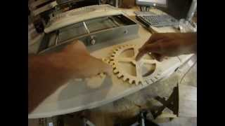 Cutting Wooden Gears With A Cnc Machine