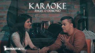 ÁNGEL O DEMONIO  KARAOKE       FREDY MONTOYA FT LUISITO MUÑOZ