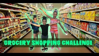 GROCERY SHOPPING CHALLENGE!!!