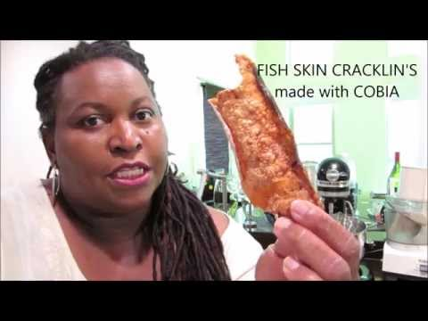 Save Crispy Fish Skin Cracklin's made with Cobia Pics