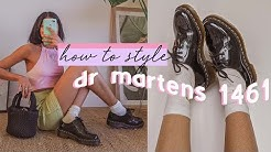How to Style: Dr Martens 1461 Shoes