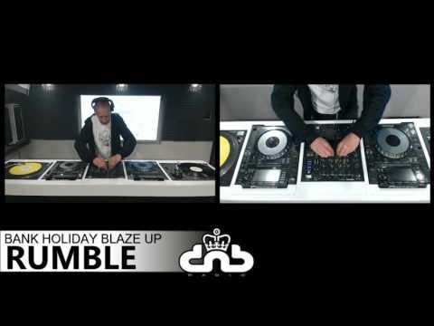 Rumble - Royal dnb Radio - Bank Holiday Blaze UP
