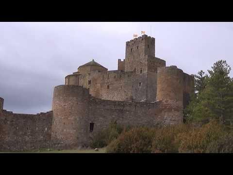 Castillo de Loarre (Huesca). Fue escenario de la película