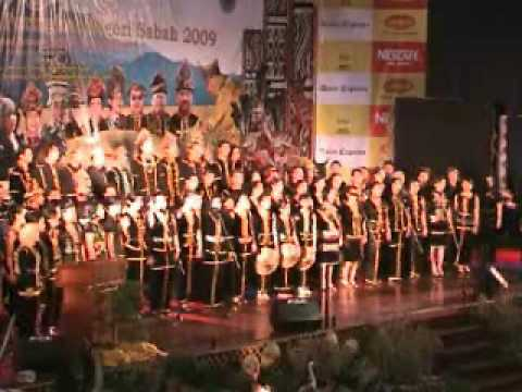 Choir presentation by Sabah Credit Corporation video A