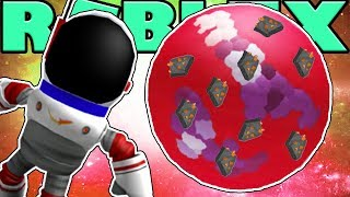 NEW CRIMSON PLANET WITH EMERALDS - ROBLOX SPACE MINING TYCOON #4