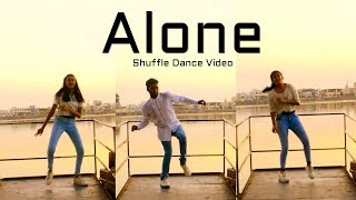 Alan Walker - Alone | Shuffle Dance Music Video ( Electro House ) feat. ViJay