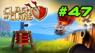 Clash Of Clans #47 - New Air Defence - Wizard & Archer Towers Upgrade