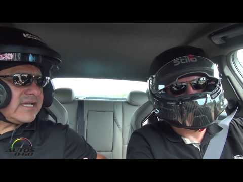 2016 Cadillac CTS V 1st. drive with Mark Reuss, GM VP Global Product Planning, at Road America