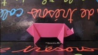 [Origami] Le Cochon En Papier !
