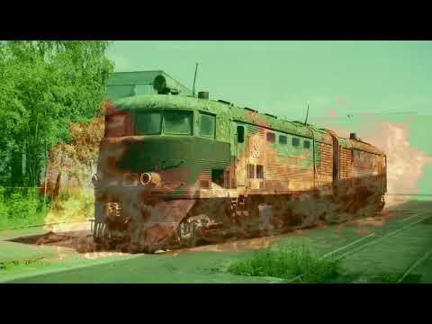 Сталк с флэшбэками на тепловоз ТЭ2 // Browse Retro Locomotive TE2.