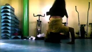 Bboy Palabra Metiendo Mano En Head Spin