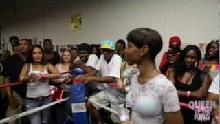 "BABS BUNNY & VAGUE presents ""QUEEN OF THE RING"" TORI DOE -vs- ASH CASH"