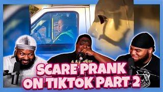 Scare Prank on TikTok Funny Scare Pranks on ScareCam! Part2 (Try Not To Laugh)