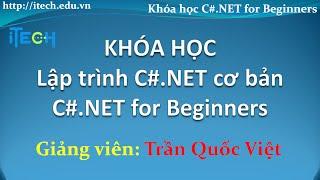 Học lập trình C# cơ bản - 02 Khái niệm cơ bản về lập trình