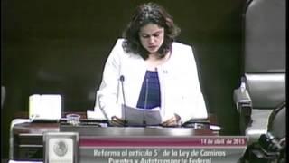 Dip. Adriana Soto (MC) - Ley de Caminos, Puentes y Autotransporte Federal