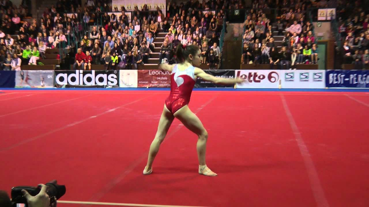 Alessia Leolini Fx Ita 2011 Top Gym Youtube