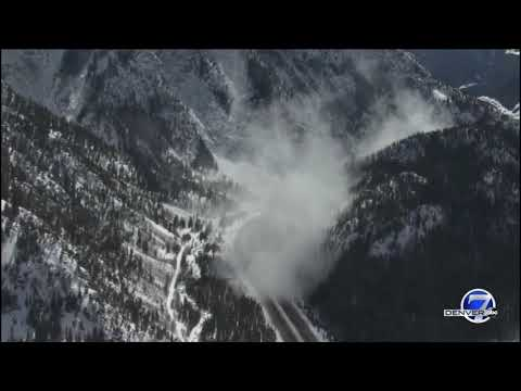 Video shows two new triggered avalanches in Ten Mile Canyon