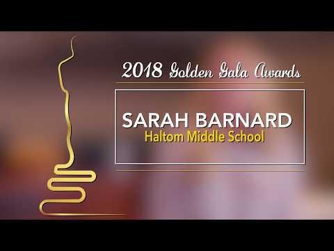 Sarah Barnard, Haltom Middle School