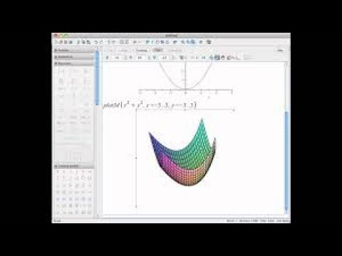 HOW WE MAKE PLOT/ GRAPH IN 3D  BY USING MAPLE 18