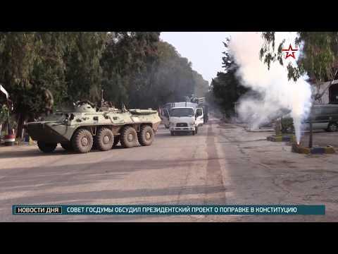 Военные РФ и Сирии отбили атаку «боевиков» на учениях в Тартусе
