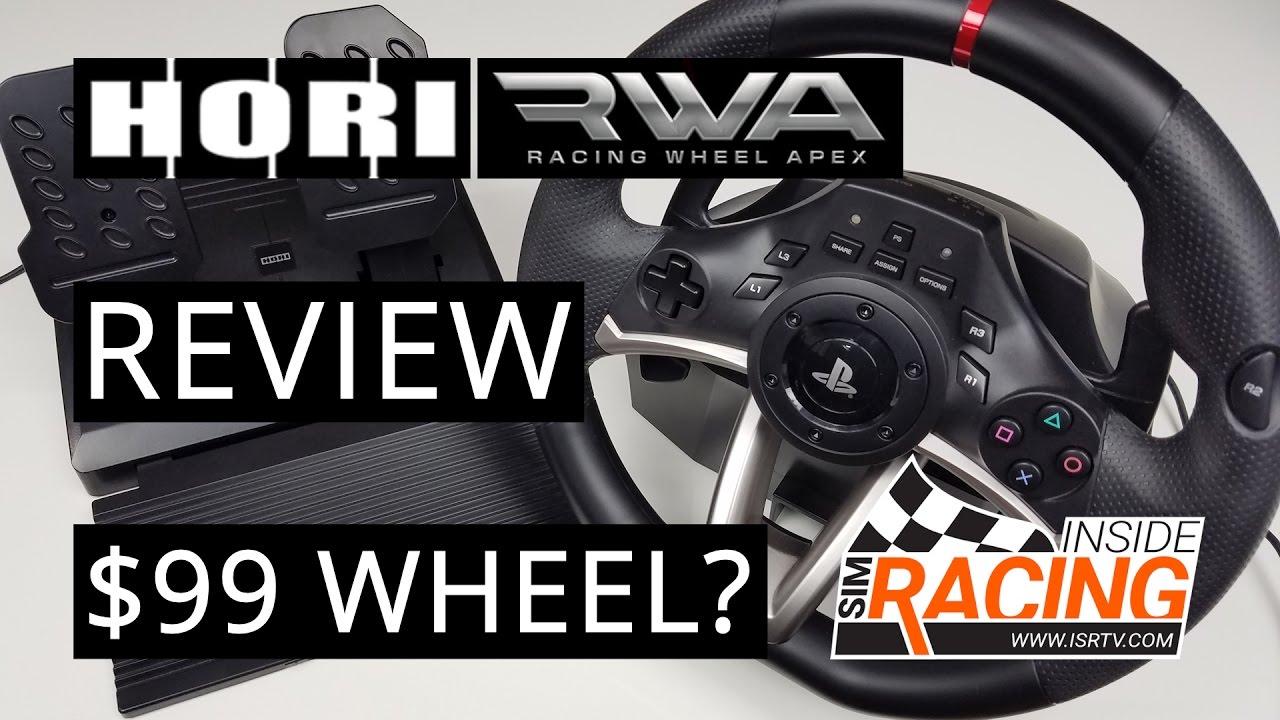 Hori Racing Wheel Apex Review Is A 99 Wheel A Good Idea Youtube