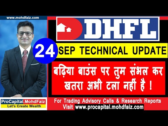DHFL : 24 SEP  TECHNICAL UPDATE  ????? ?????  ?? ??? ???? ?? - ???? ??? ??? ???? ?? !