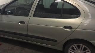 Dépose et remplacement moteur Renault Megane 1.6 i