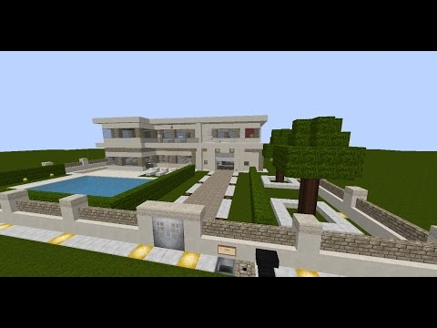 Full download minecraft moderne villa lets show bauplan - Minecraft villa ...
