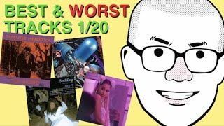 Weekly Track Roundup: 1/20 (Ariana Grande, James Blake, Future, Logic)