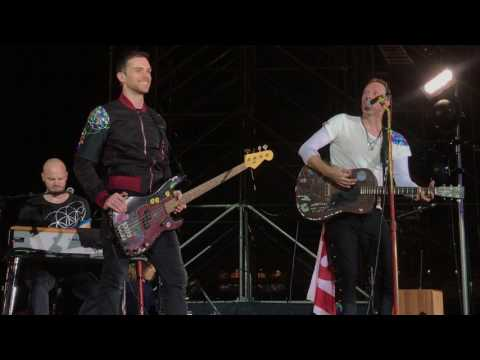 Don't Panic + Happy Birthday to Guy Berryman - Coldplay live in Taipei | April 12, 2017
