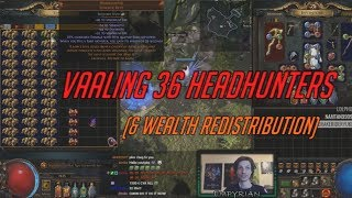[PoE] Stream Highlights #148 - Vaaling 36 Headhunters