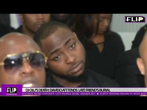 DJ OLU'S DEATH: DAVIDO ATTENDS LATE FRIEND'S BURIAL