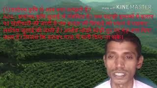 समोच्य कृषि किया है|  समोच्य कृषि से  आप क्या जानते  है | भारत में कृषि के प्रकार | कृषि |