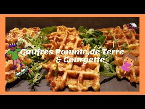 [gaufres-salees-courgette-pomme-de-terre-jambon-fromage]