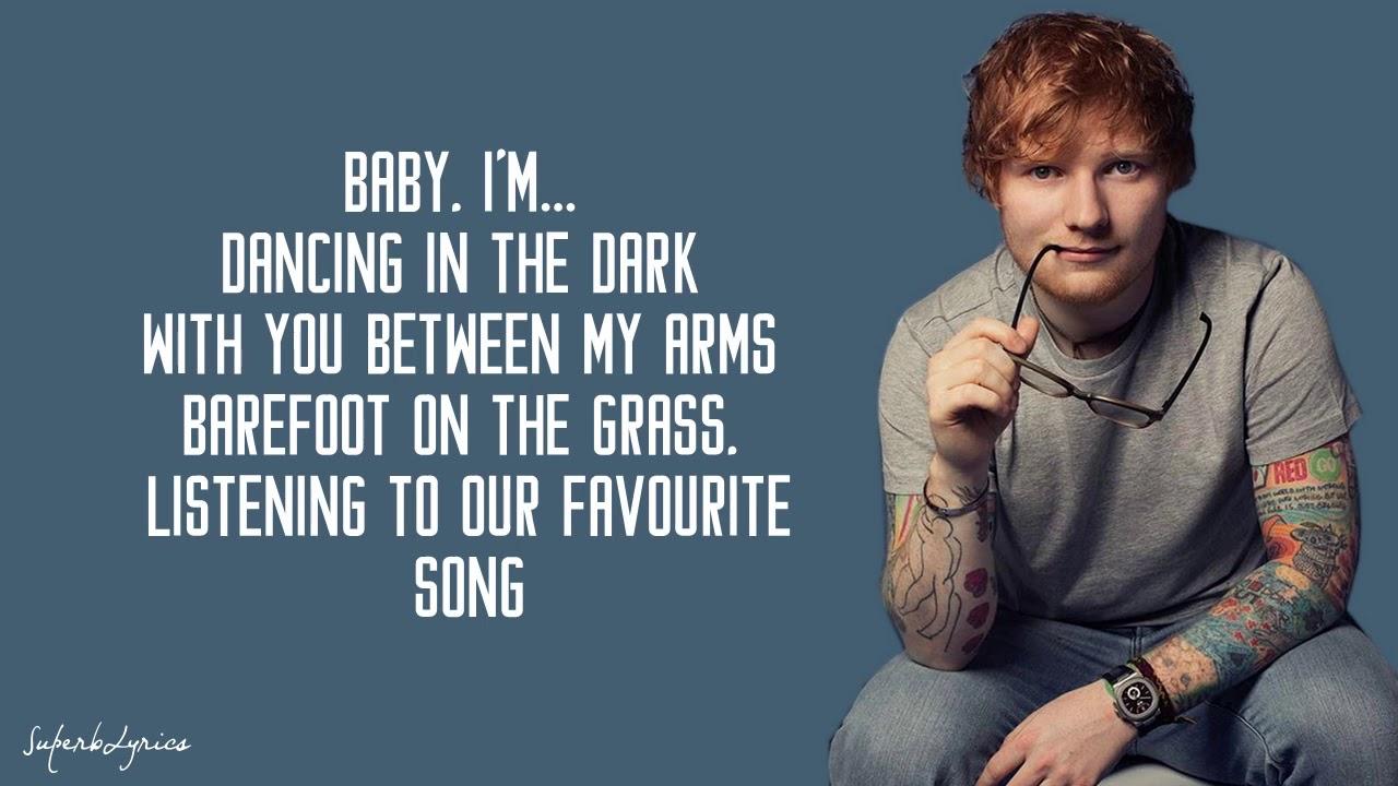 Ed Sheeran Perfect Lyrics Youtube
