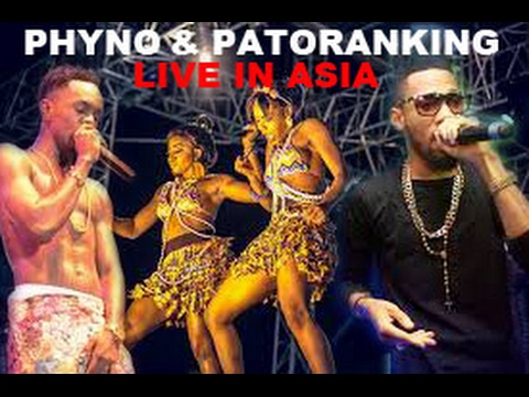 PHYNO AND PATORANKING PERFORMS LIVE IN ATLANTA