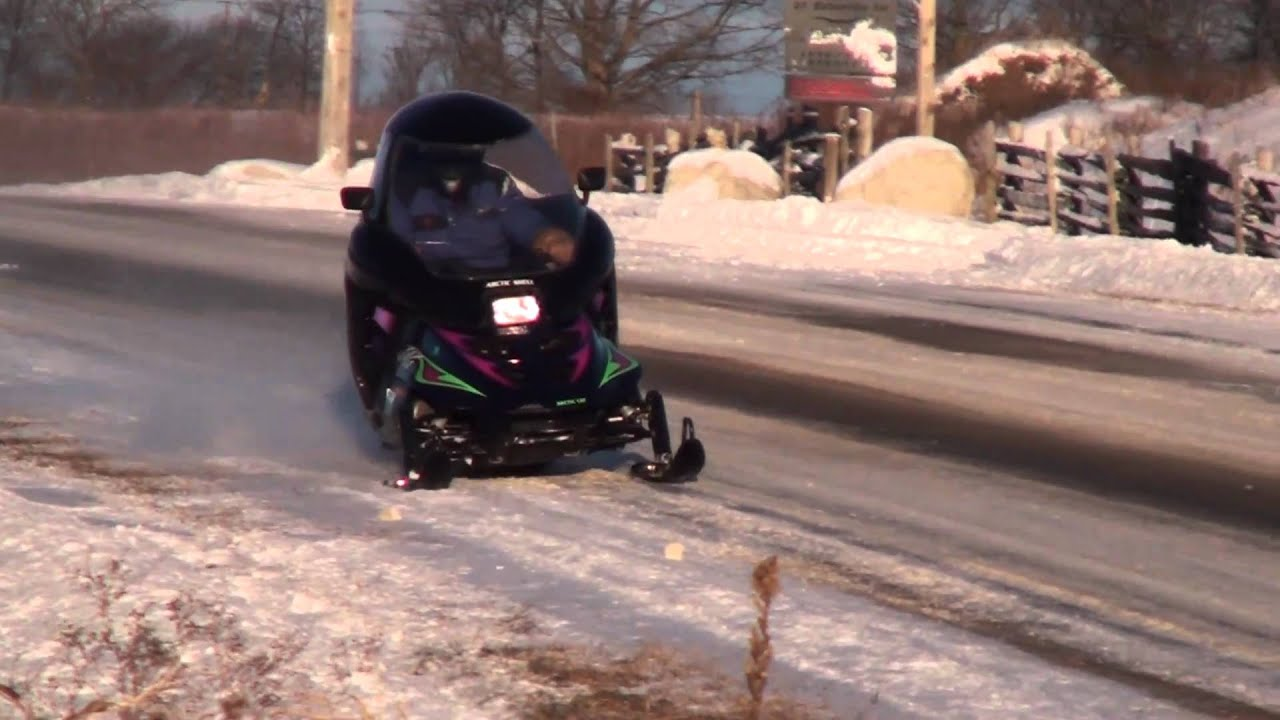 4 Seater Atv >> One very hot snowmobile cab - YouTube