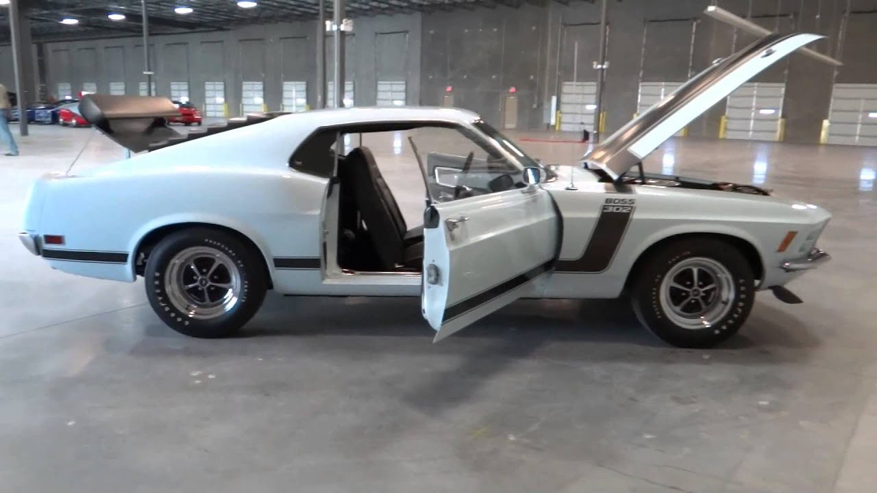 1970 Ford Mustang Boss 302  Stock  028 At Our Tampa