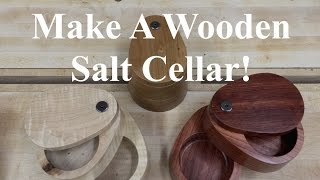 237 - Build A Wooden Salt Cellar