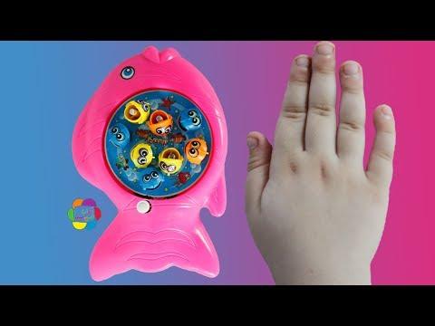 اصغر لعبة صياد السمك الحقيقية الجديدة للاطفال العاب صيد الاسماك بنات واولاد fishing game toy playset