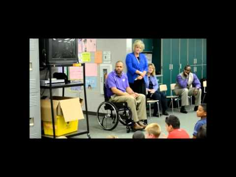 Frank V. Bergman Elementary School, Speaking Engagement