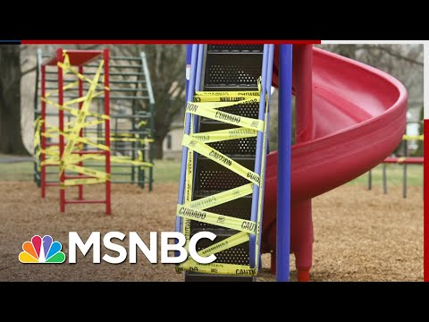 Los Angeles Closes Playgrounds, Outdoor Dining While Allowing Filming To Continue   All In   MSNBC