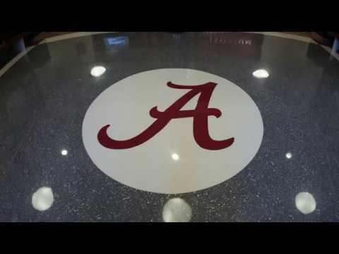 University of Alabama Foster Auditorium - Terrazzo Installation