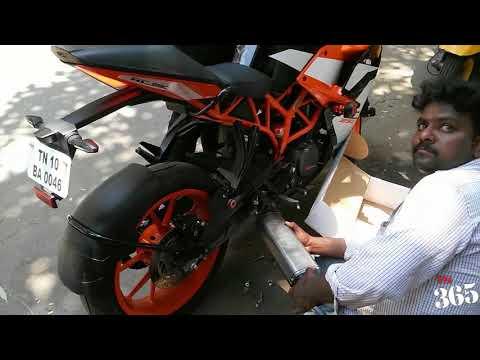 KTM RC 390 - Exhaust change Sick Sound !!! கோல நாசம் | தாறு மாறு |
