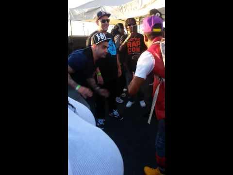 Dizaster Billy Boondocks fight